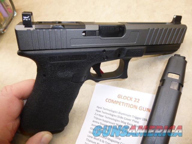 PRICE REDUCED, Custom Gen-3 Glock 22, Stippled Grip, RMR Cut Slide, Hyve Tech Trigger  Guns > Pistols > Glock Pistols > 23