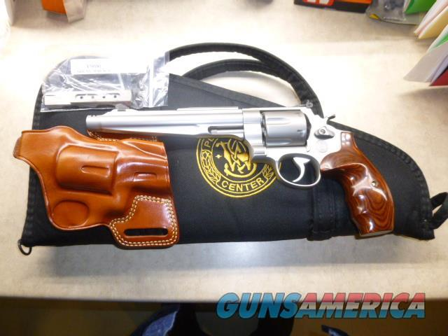 """S&W 629-6 Performance Center .44 Mag 7.5"""" Barrel with Holster  Guns > Pistols > Smith & Wesson Revolvers > Model 629"""