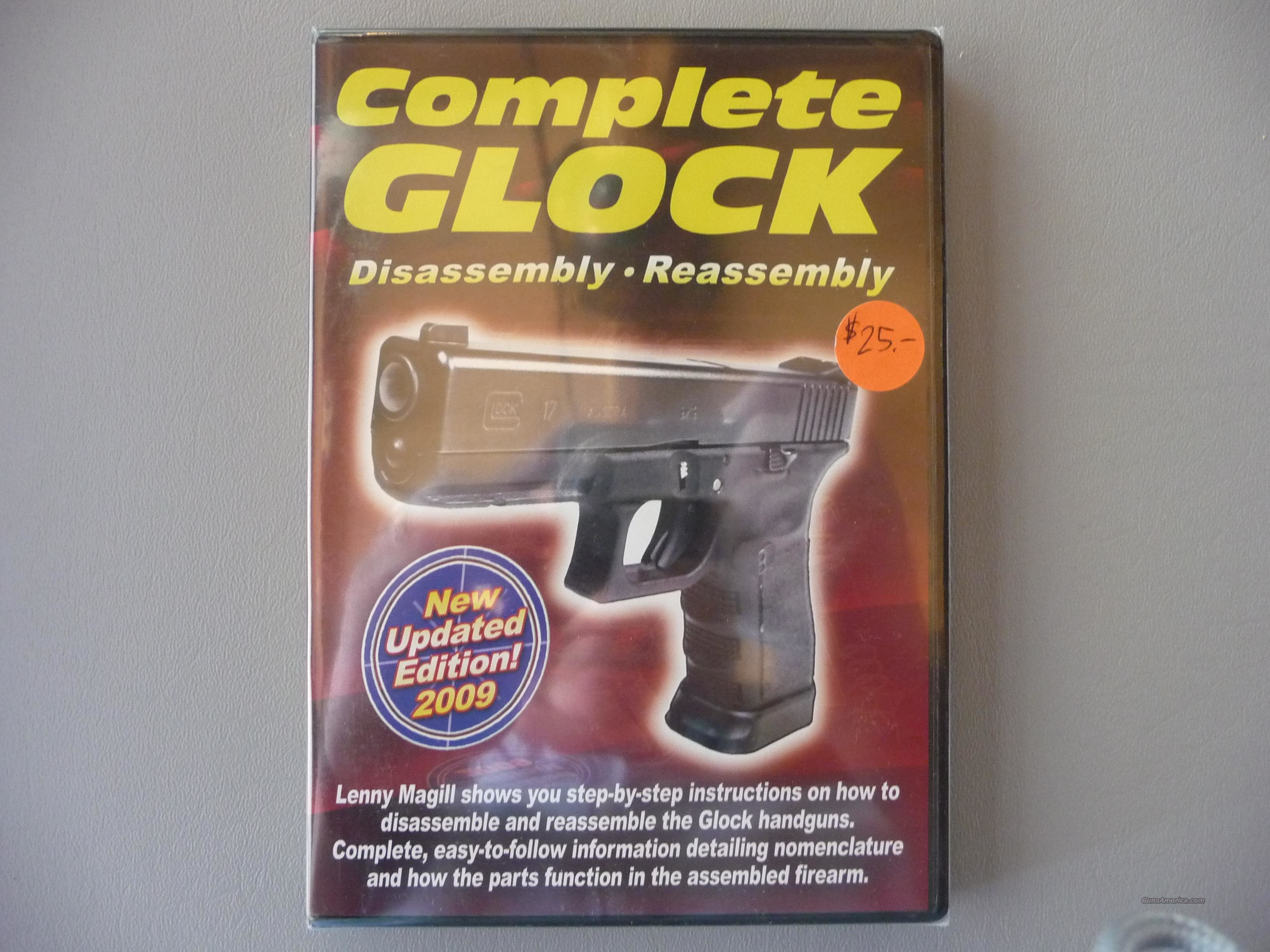 "NEW DVD ""Complete Glock Disassembly - Assembly"" by Lenny Magill  Non-Guns > Educational Tapes/Courses"