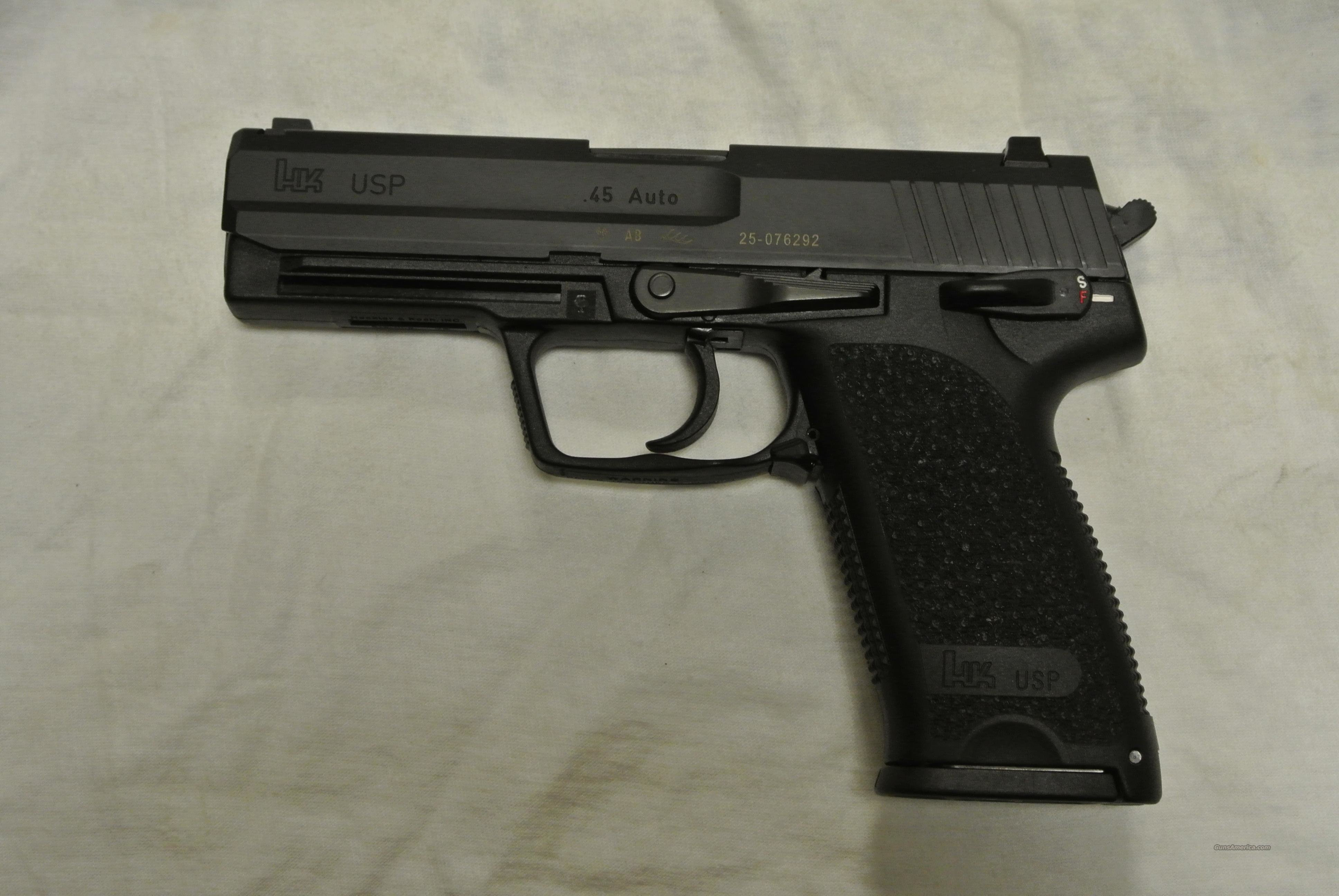 heckler koch usp 45 auto full size pistol for sale. Black Bedroom Furniture Sets. Home Design Ideas