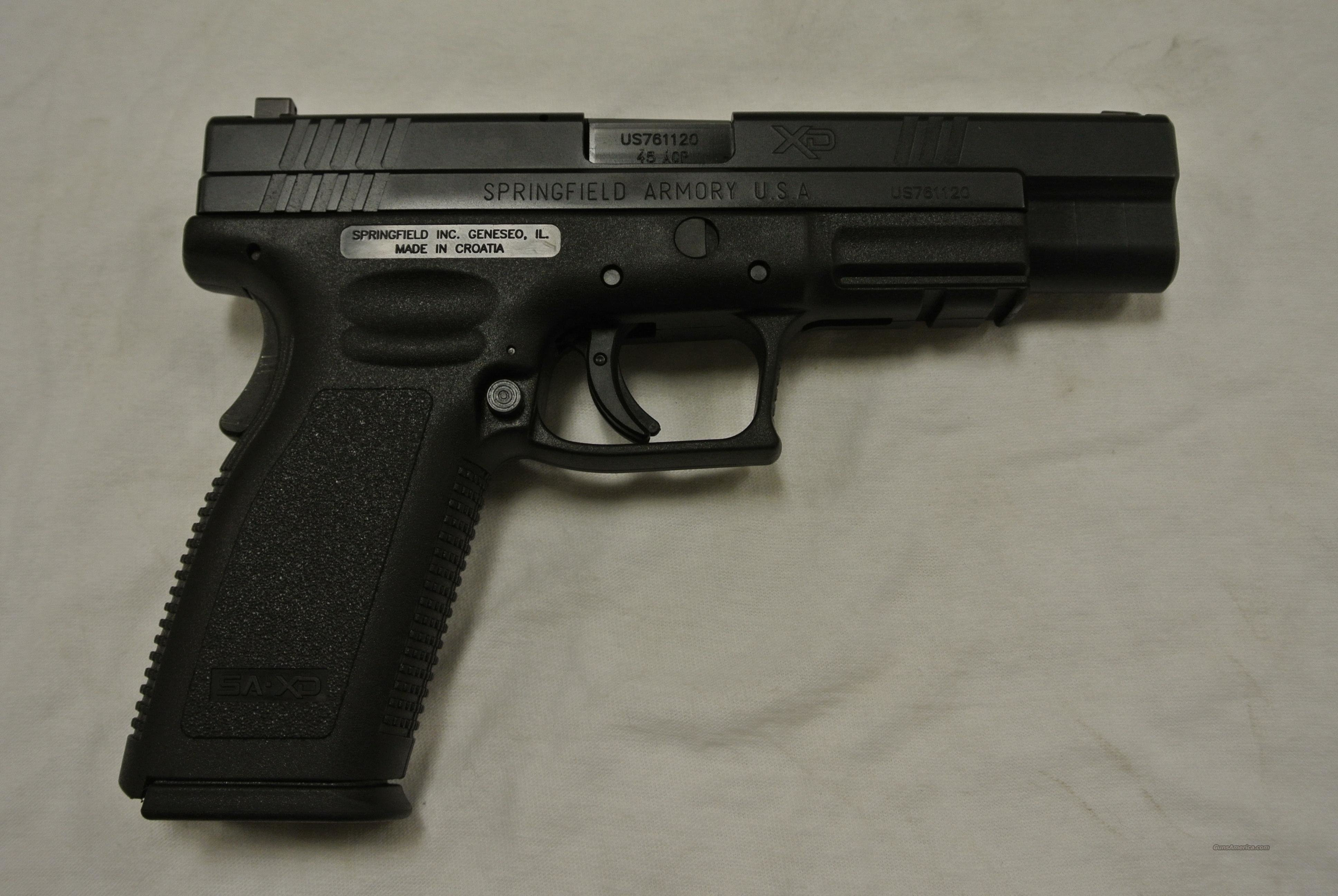 Springfield XD 45 Auto Tactical 5 inch with Night Sights  Guns > Pistols > Springfield Armory Pistols > XD (eXtreme Duty)