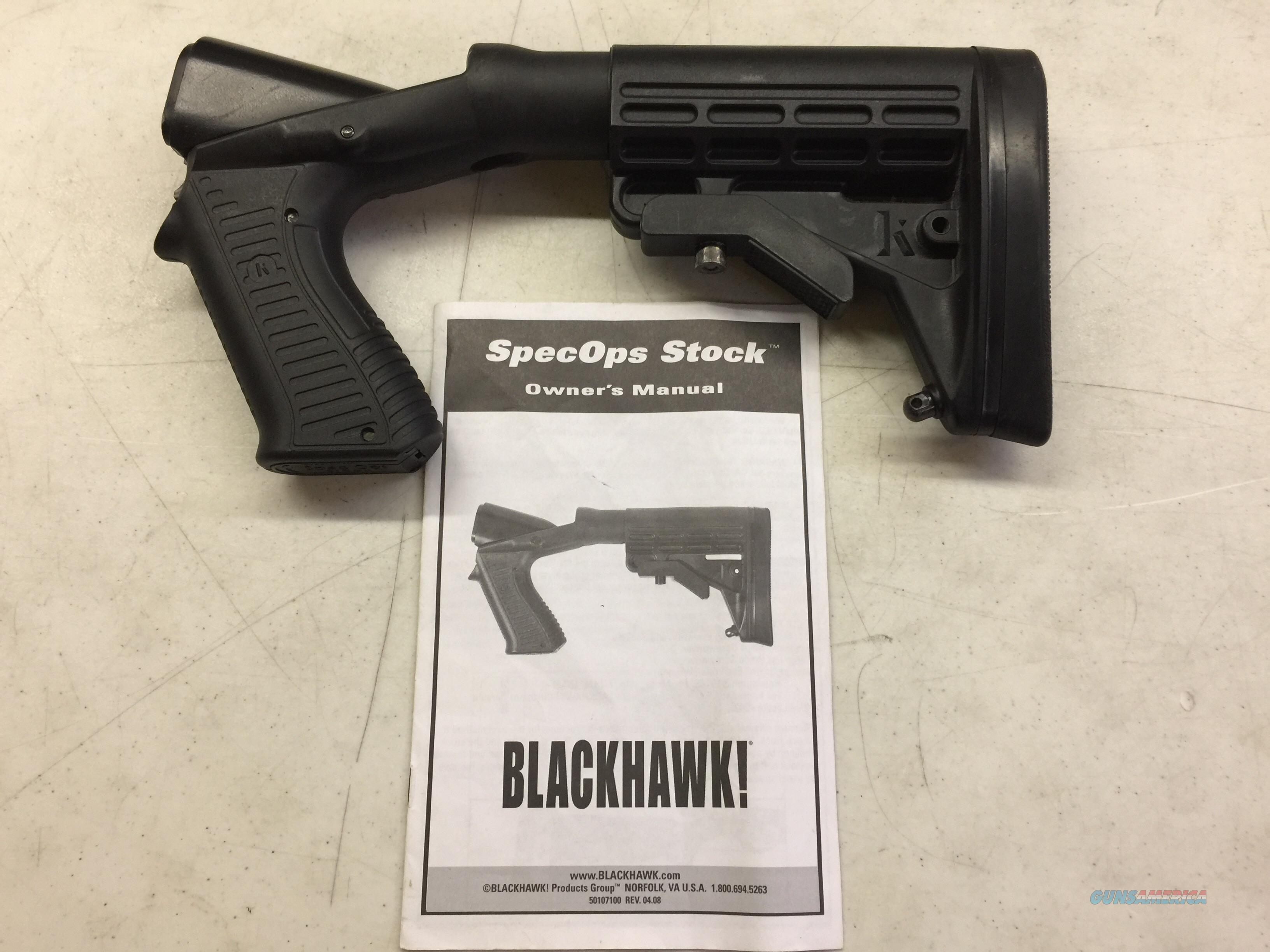 Blackhawk Specops Stock Gen 1 Rem 870 12ga  Non-Guns > Gunstocks, Grips & Wood