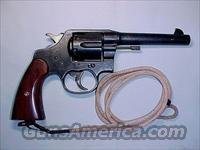 Colt M1917 .45ACP Revolver w/Half Moon Clips and Original Lanyard  Guns > Pistols > Colt Double Action Revolvers- Pre-1945