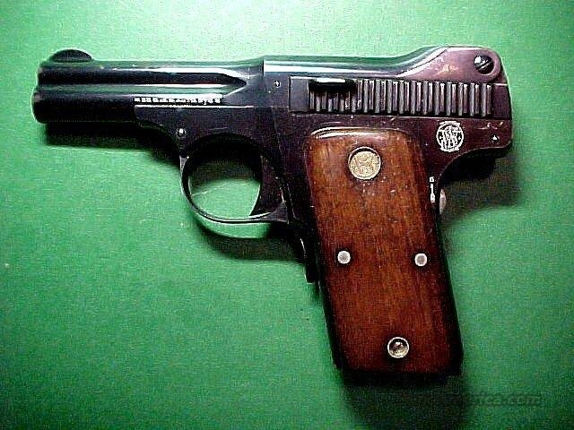 S&W Model 1913 Caliber .35 S&W Automatic  Guns > Pistols > Smith & Wesson Pistols - Autos > Steel Frame