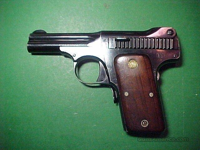 S&W Model 1913 Caliber .35 S&W Automatic Type I Variation III  Guns > Pistols > Smith & Wesson Pistols - Autos > Steel Frame