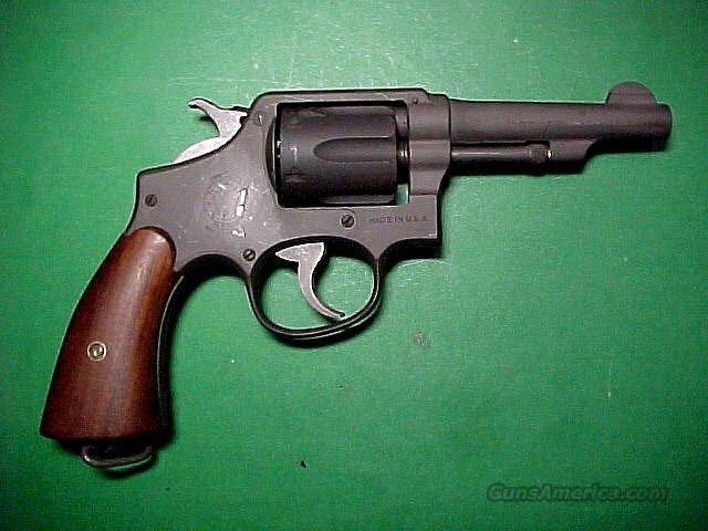 WW 2 .38 Caliber Victory Model Revolver  w/Pilots Shoulder Holster  Guns > Pistols > Military Misc. Pistols US > Other