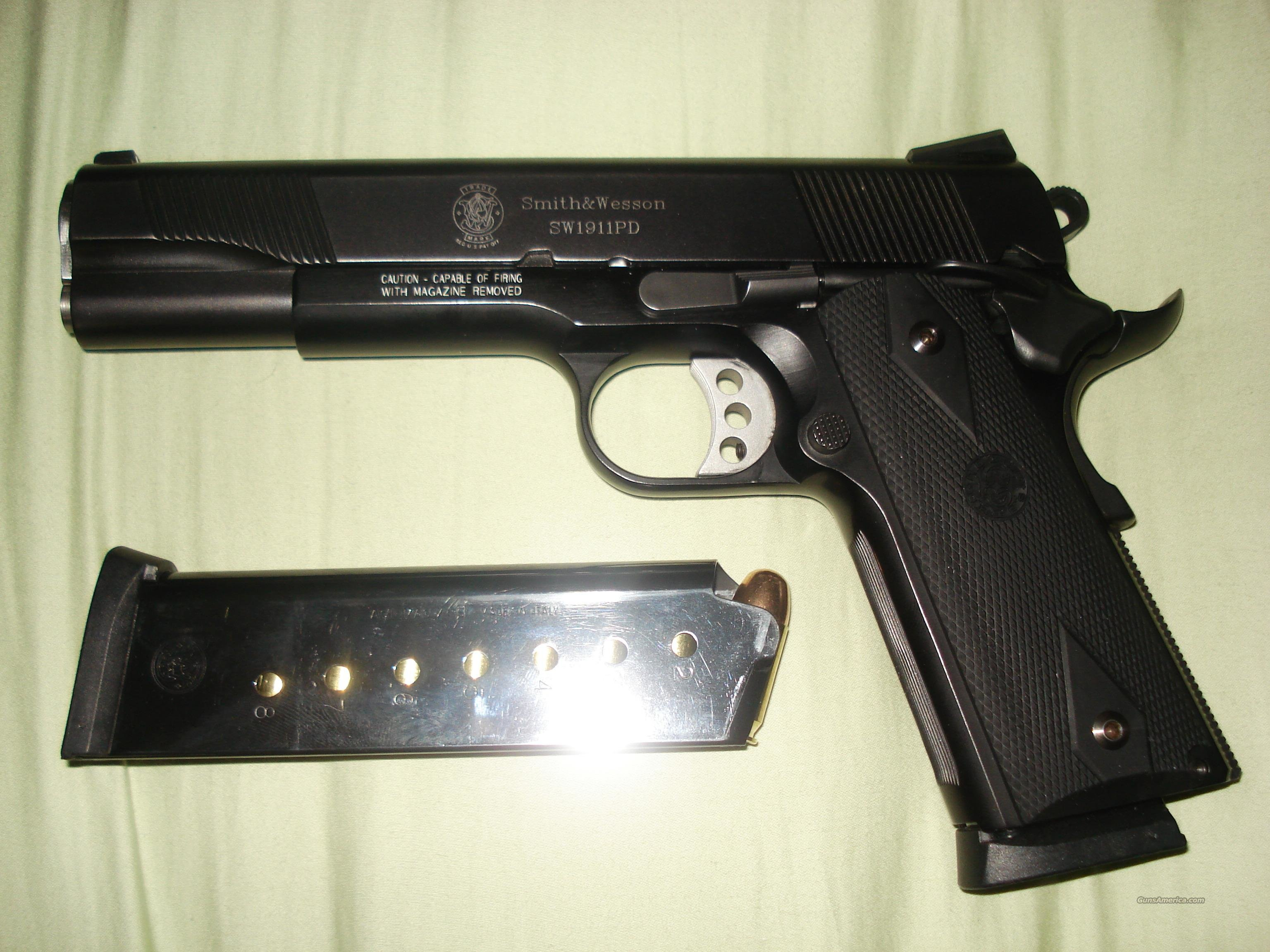 Smith and Wesson 1911PD  Guns > Pistols > 1911 Pistol Copies (non-Colt)