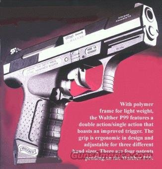Walther P99 Made in Germany  Guns > Pistols > Walther Pistols > Post WWII > Large Frame Autos
