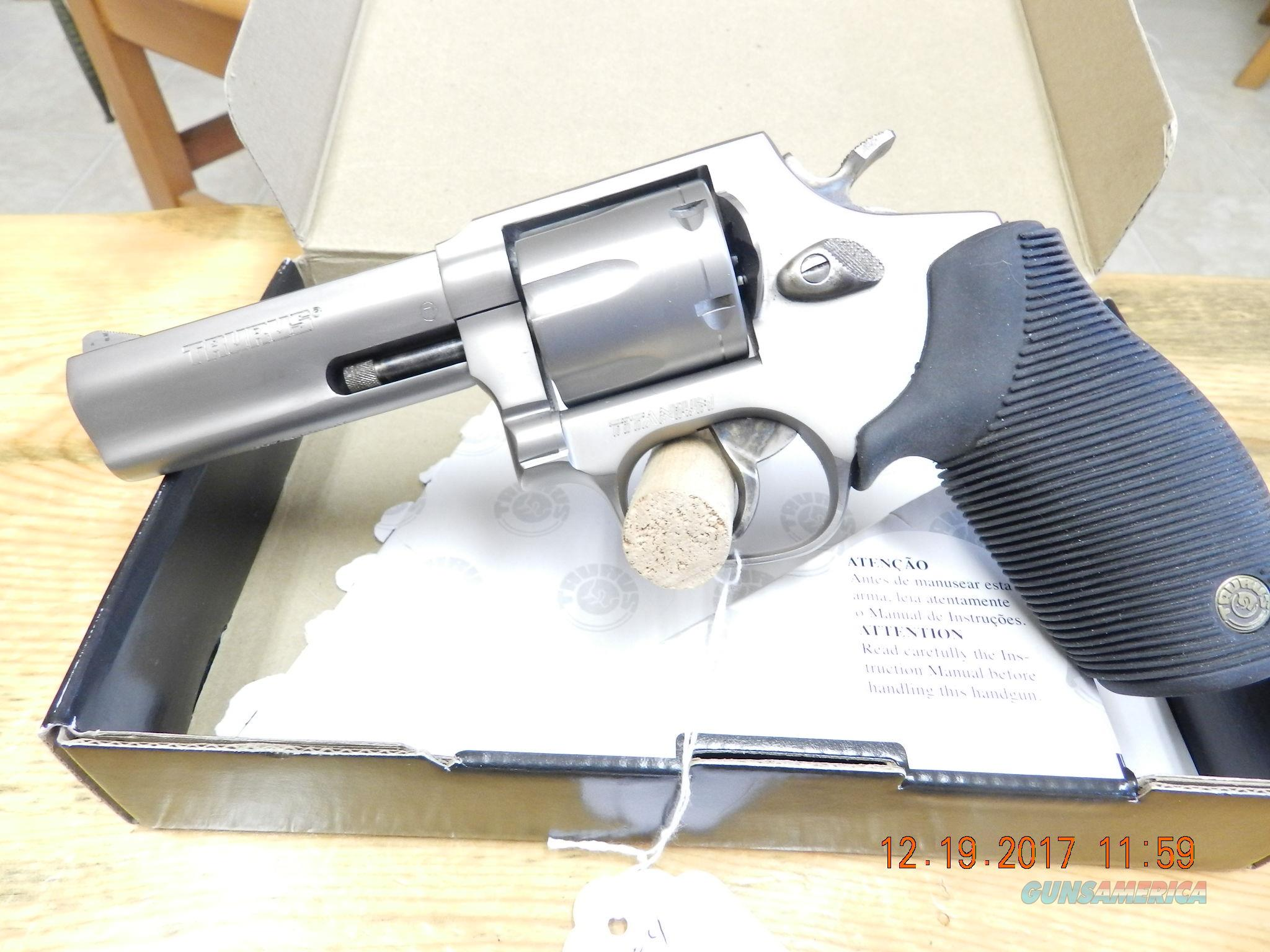 Taurus  Rare Titanium 616 357 magnum  Guns > Pistols > Taurus Pistols > Revolvers