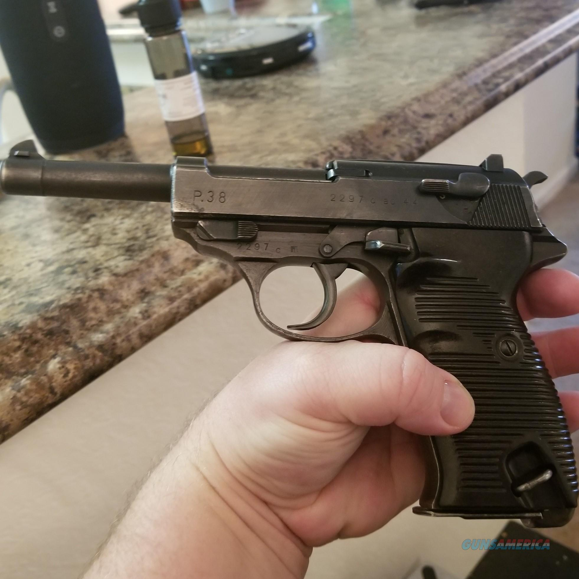 P38 AC44 very good condition ALL MATCHING  Guns > Pistols > Walther Pistols > Pre-1945 > P-38