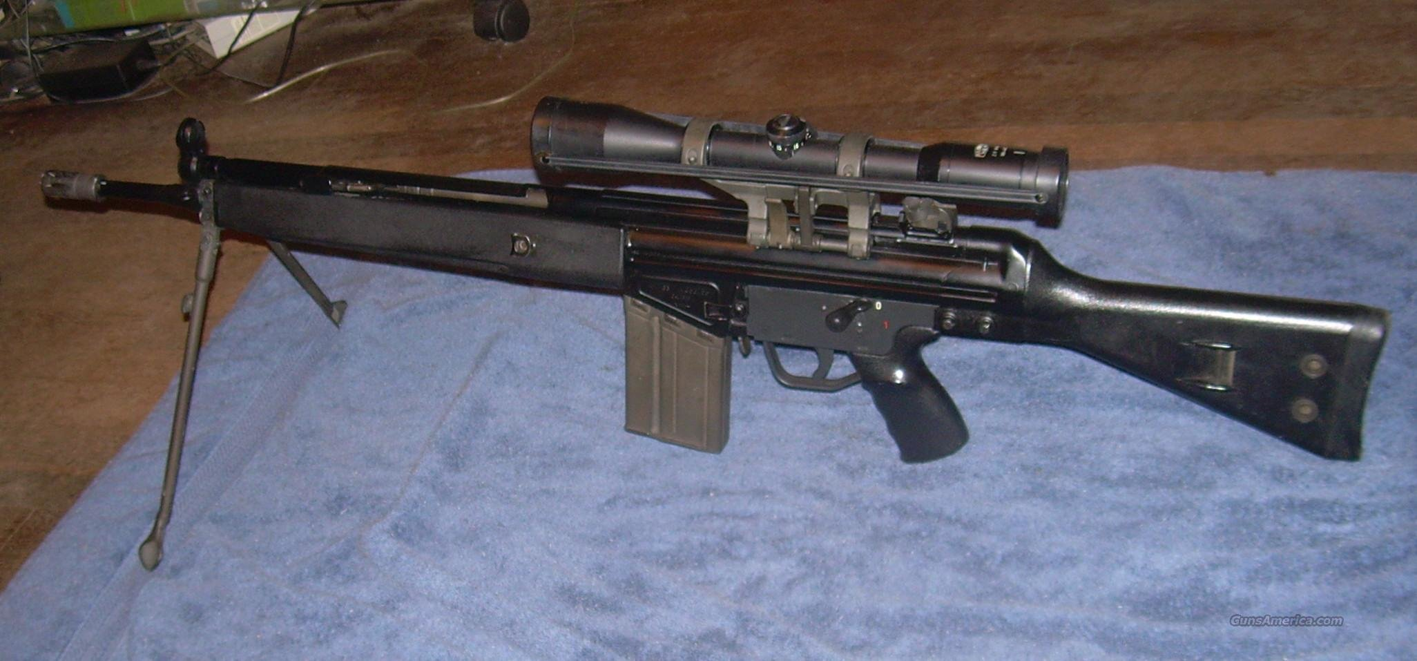 HK 91 marked as G3  Guns > Rifles > Heckler & Koch Rifles > Tactical