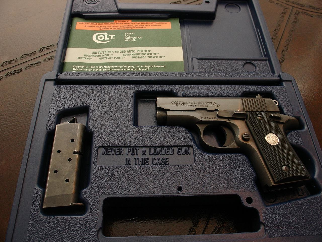Colt Mustang MK IV  380 STILL AVAILABLE  Guns > Pistols > Colt Automatic Pistols (.25, .32, & .380 cal)