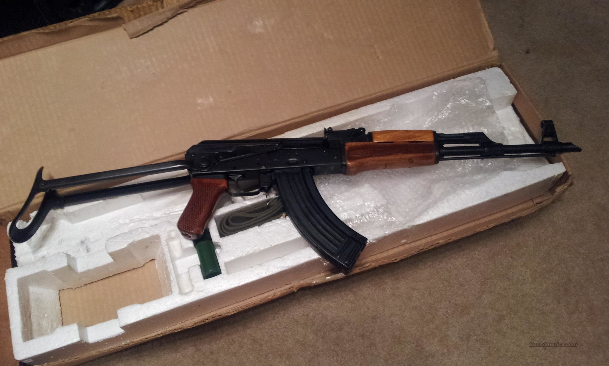 Rare Norinco AK 47, Mak 90,In Box, Folding stock, Blue Bolt  Guns > Rifles > AK-47 Rifles (and copies) > Folding Stock