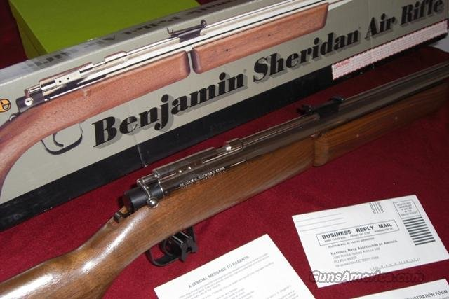 Benjamin - Sheridan Pellet Rifle  Non-Guns > Air Rifles - Pistols > Adult High Velocity