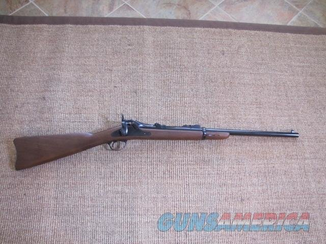 Pedersoli 1873 Trap Door Springfield Carbine  Guns > Rifles > Pedersoli Rifles > Trapdoor Type