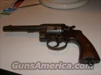 colt 45 1909 us army issued double action revolver  Guns > Pistols > Colt Double Action Revolvers- Pre-1945