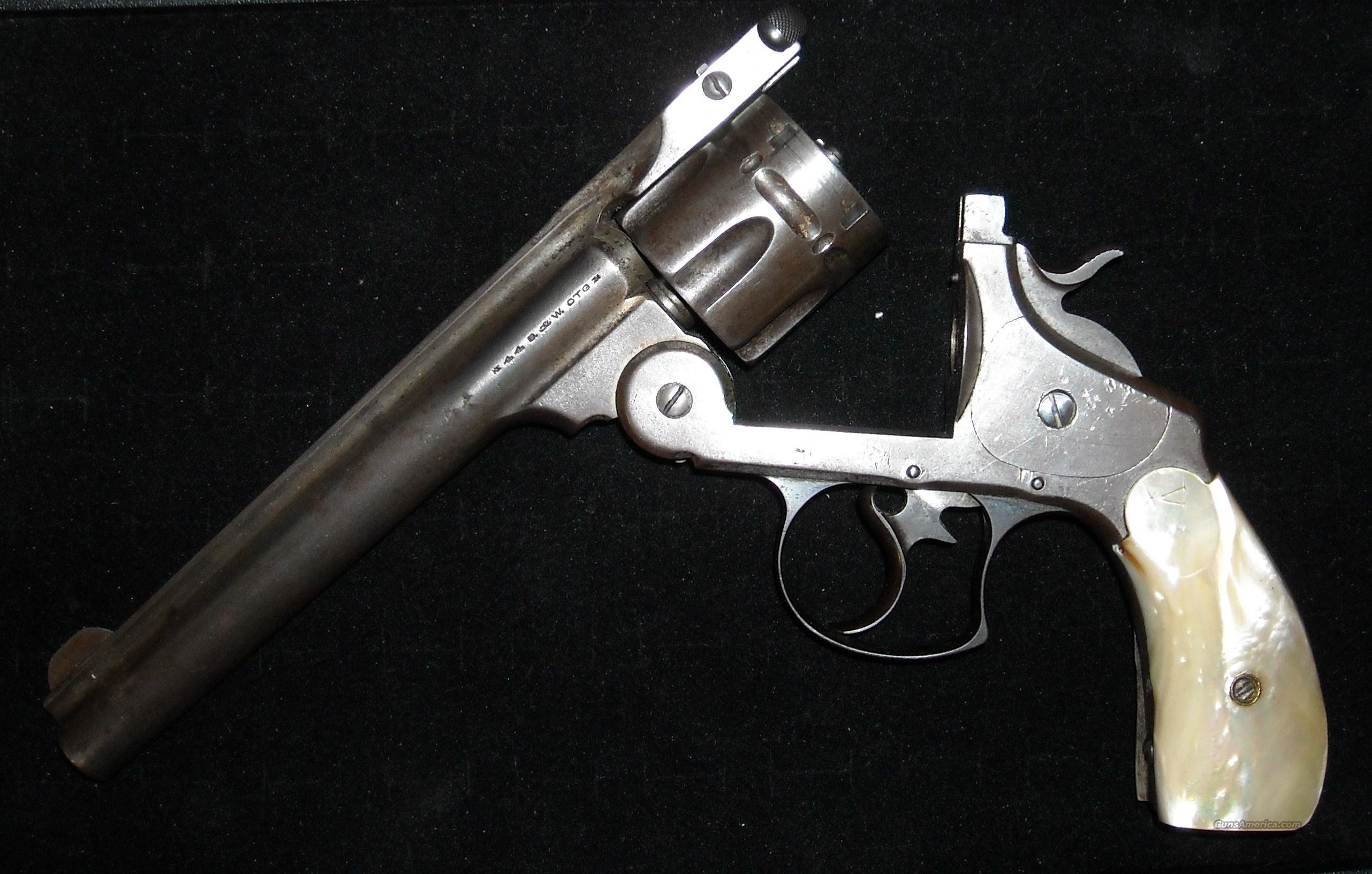 S&W .44 Russian cal Top Break Model Double Action  Guns > Pistols > Smith & Wesson Revolvers > Pre-1899