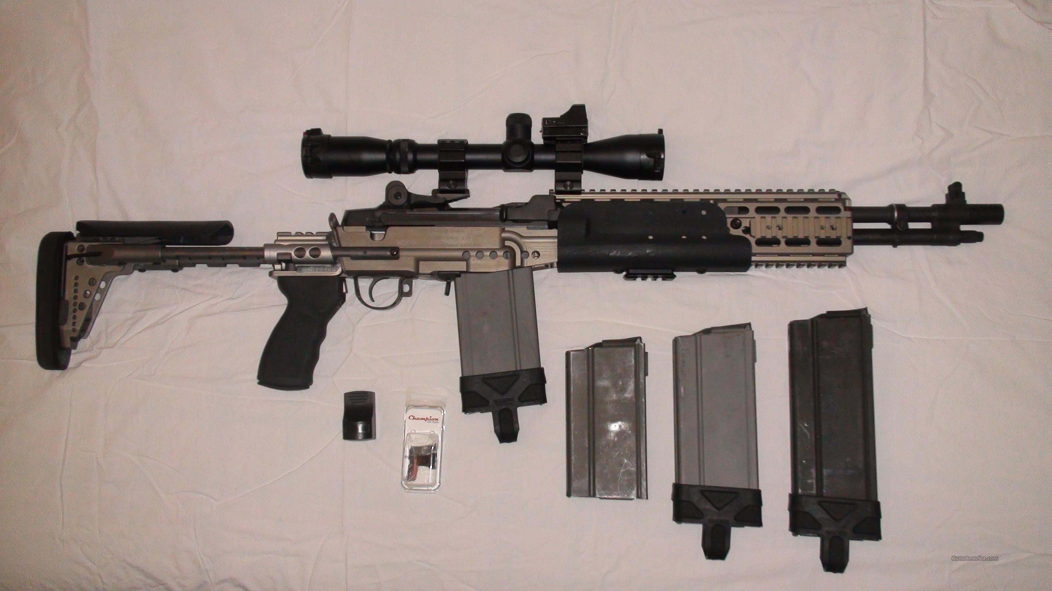 Springfield Armory M1A SOCOM II Sage Enhanced Battle Rifle (EBR) Stock  Guns > Rifles > Springfield Armory Rifles > M1A/M14