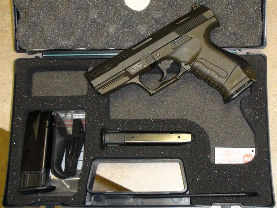 Walther P99 9mm Pre-Smith and Wesson OD Green lower LNIB  Guns > Pistols > Walther Pistols > Post WWII > Large Frame Autos
