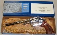 Smith & Wesson Model 29-2, Nickel Plated, .44 Magnum  Guns > Pistols > Smith & Wesson Revolvers > Full Frame Revolver