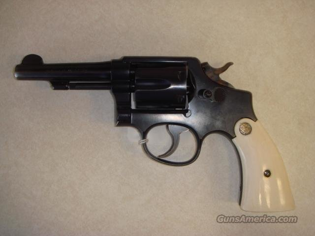 "SMITH & WESSON 38 SPECIAL PREMIO 4"" IVORY GRIPS  Guns > Pistols > Smith & Wesson Revolvers > Full Frame Revolver"