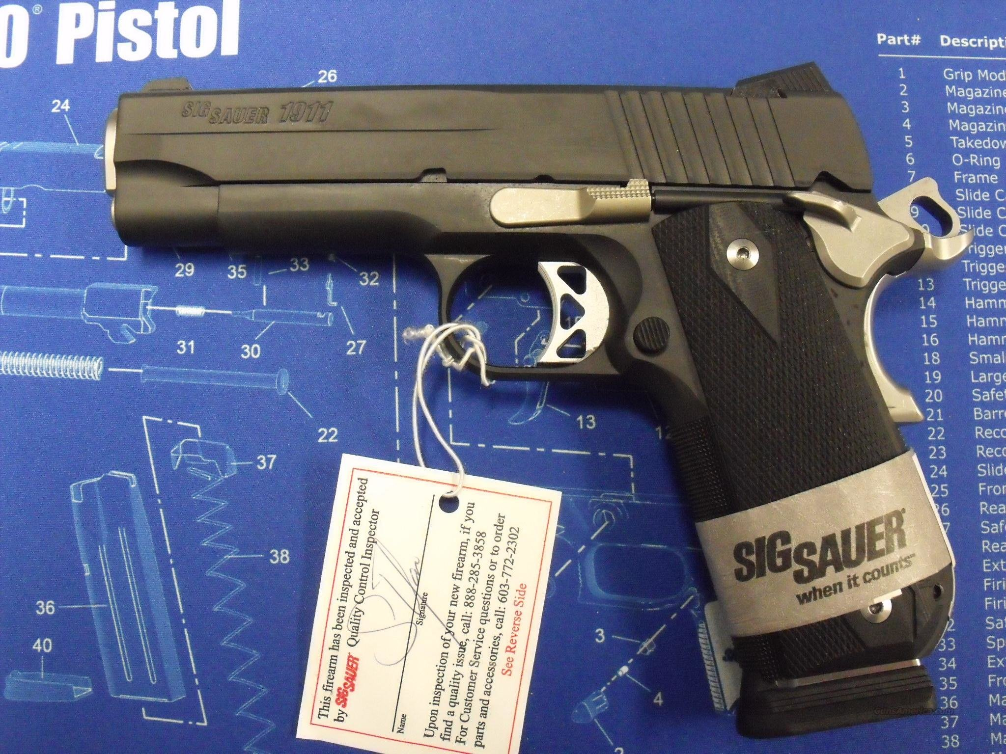 SIG 1911- CARRY NIGHTMARE  Guns > Pistols > Sig - Sauer/Sigarms Pistols > 1911