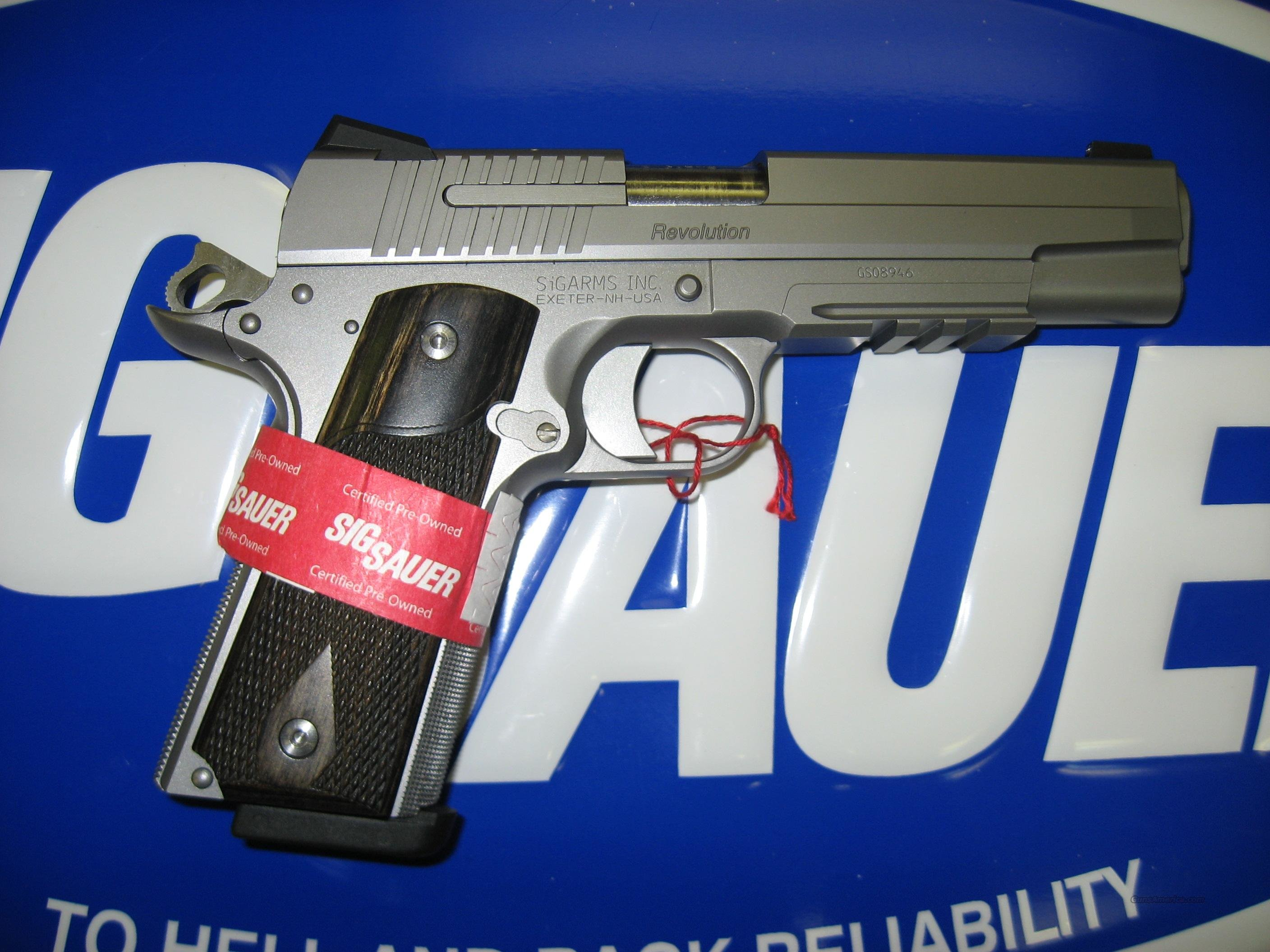 SIG 1911 S/S RAIL  Guns > Pistols > Sig - Sauer/Sigarms Pistols > 1911