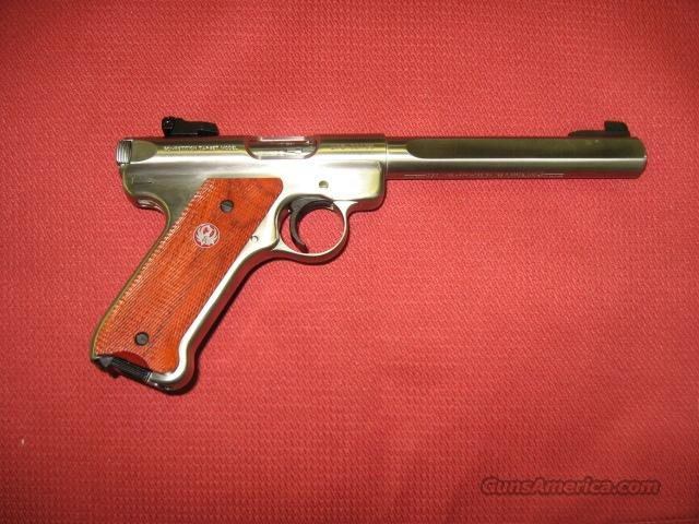 RUGER MARK III S/S TARGET  Guns > Pistols > Ruger Semi-Auto Pistols > Mark I & II Family