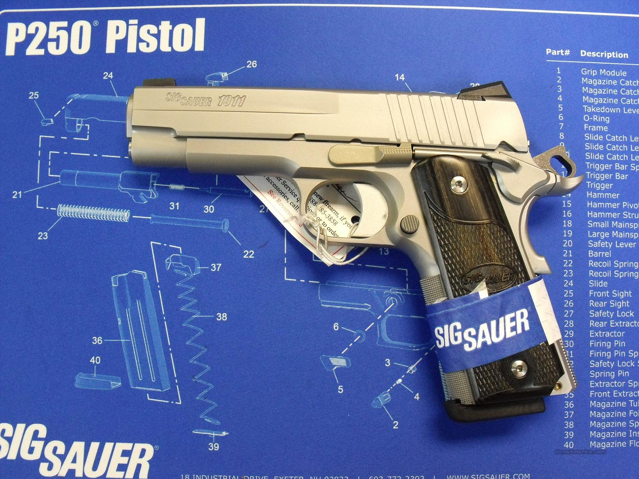 SIG 1911 CARRY S/S  Guns > Pistols > Sig - Sauer/Sigarms Pistols > 1911