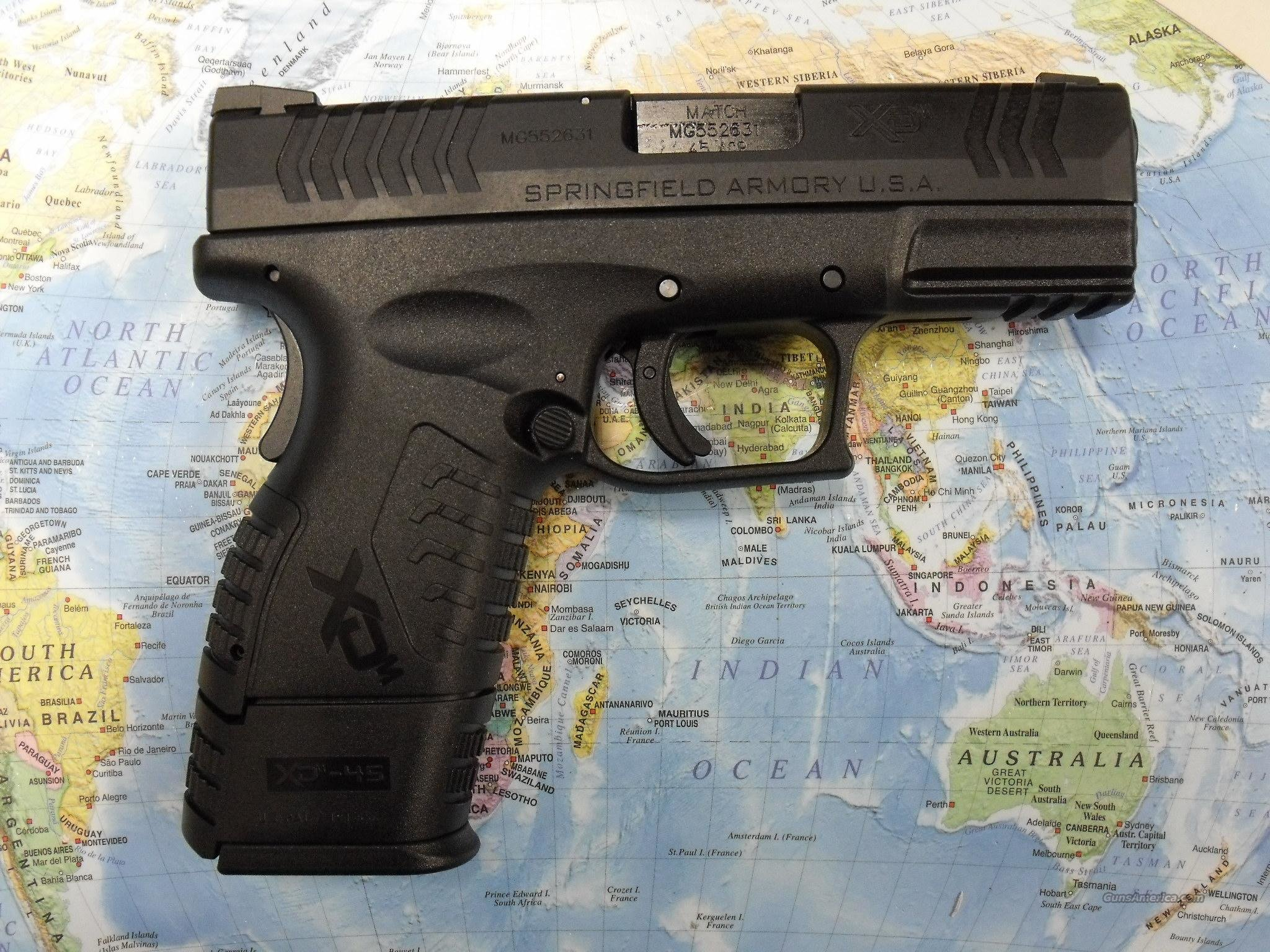 XD(M) 45ACP COMPACT  Guns > Pistols > Springfield Armory Pistols > XD (eXtreme Duty)
