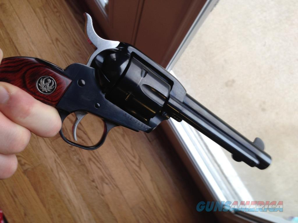 RUGER NEW VAQUERO .357 BLUED 5.5 INCH BARREL  Guns > Pistols > Ruger Single Action Revolvers > Cowboy Action