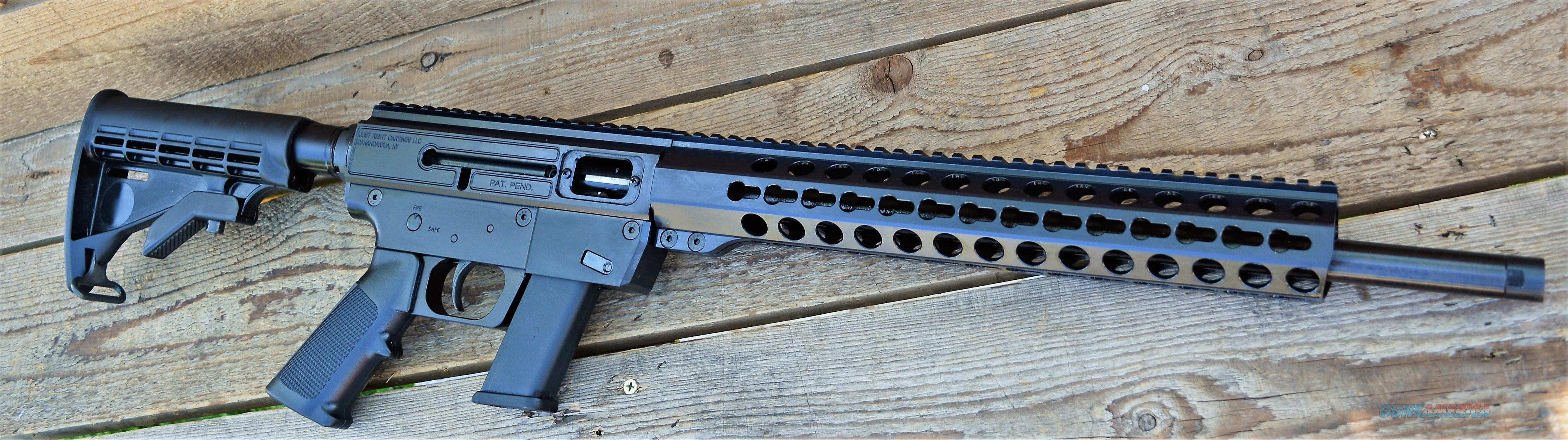 $65 Easy Pay Just Right Compact Carbine .40 S&W  use same box of ammo for revolver  Pistol collapsible stock  Takedown 100% American completely ambidextrous left or right hand GLOCK Magazine Compatible round JRC40G3TBBL JRC Gen 3 Picatinny   Guns > Rifles > O Misc Rifles