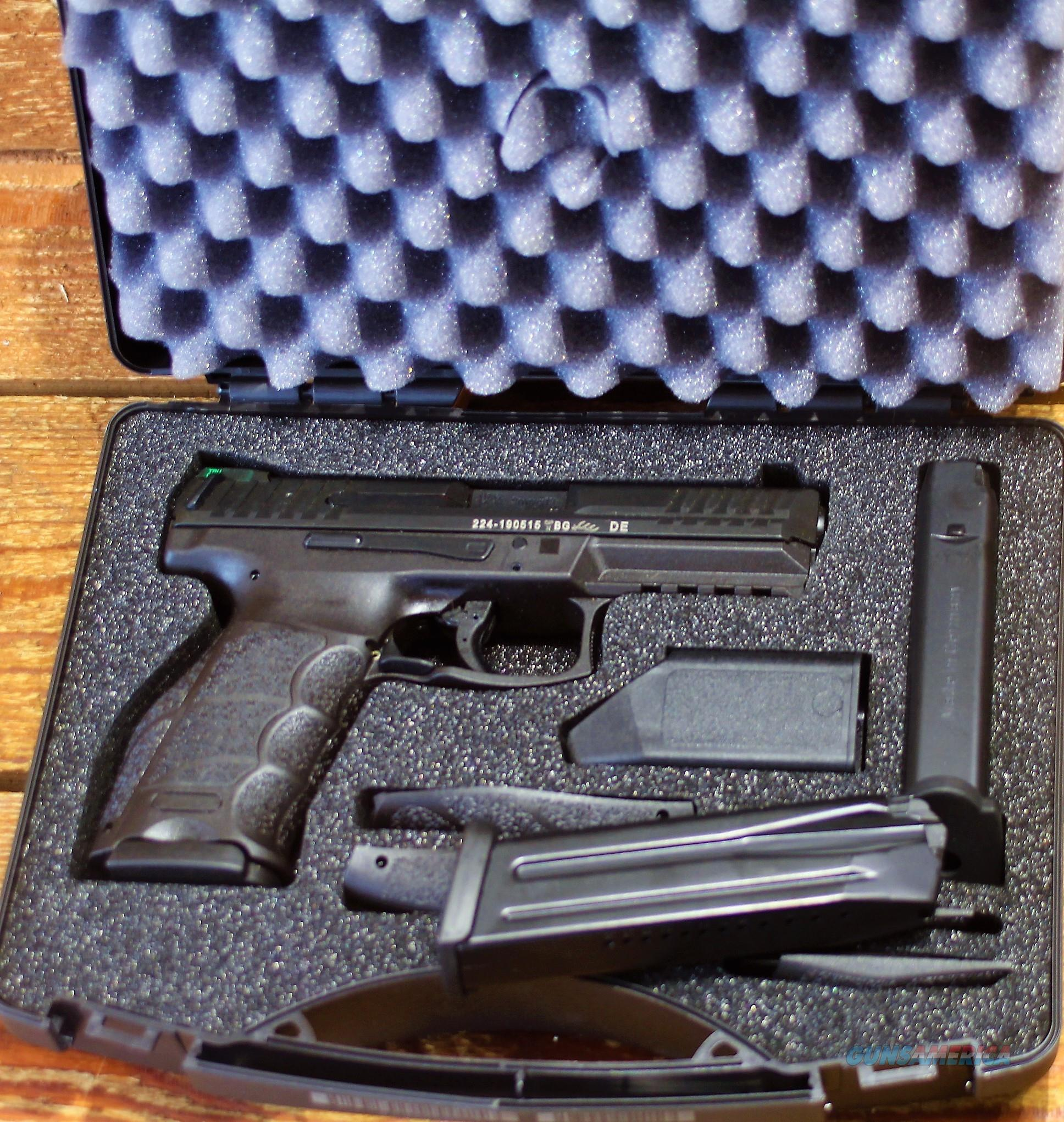 "EASY PAY $58  Heckler and Koch H&K VP9 Semi Auto Pistol 9mm Luger 4.09"" Barrel 15 Rounds Striker Fired 3-Dot Night Sights Polymer Frame Black Finish Ambidextrous magazine release Browning type modified linkless locking system 700009LE-A5     Guns > Pistols > Heckler & Koch Pistols > Polymer Frame"