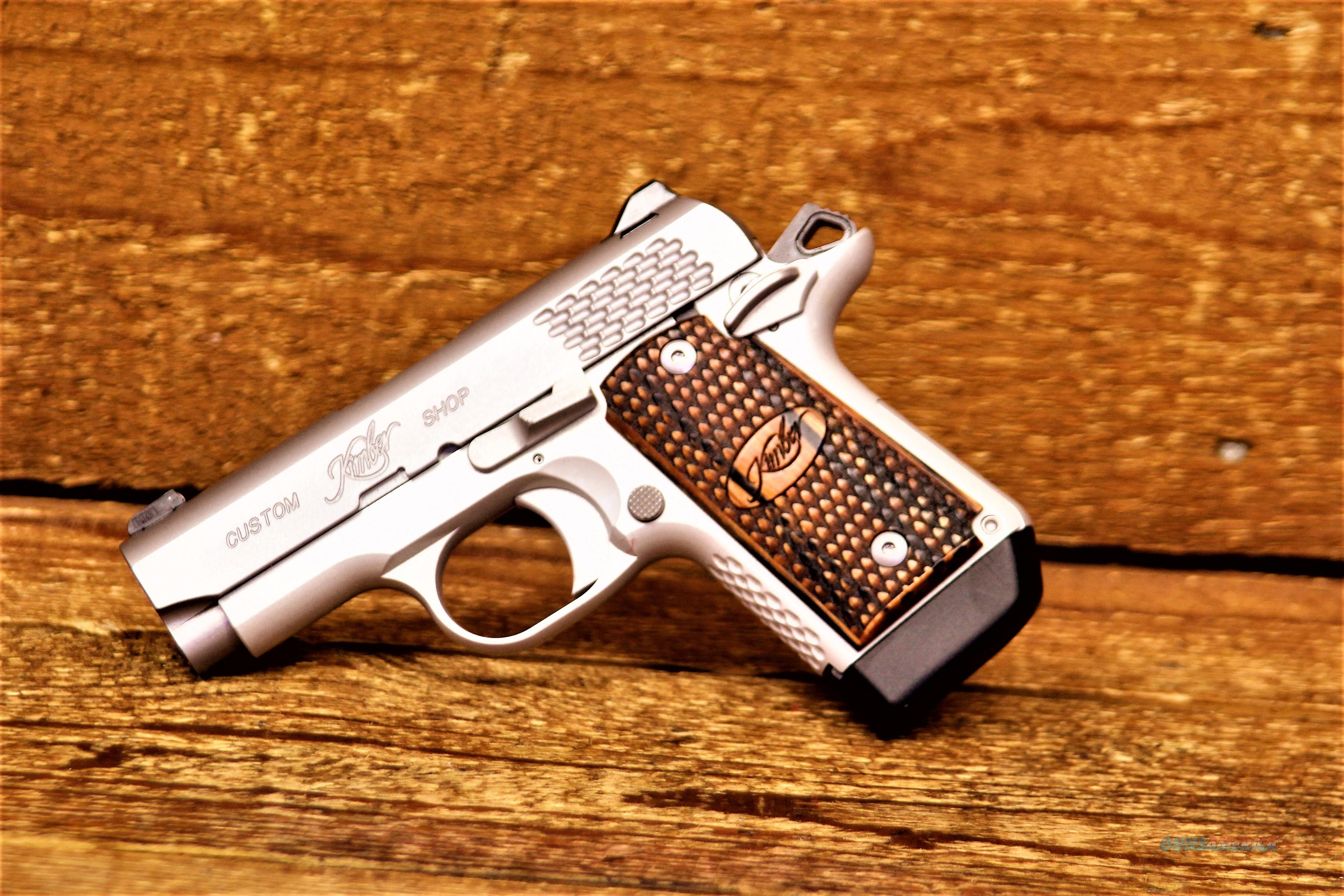 EASY PAY $75 DOWN LAYAWAY 12 MONTHLY PAYMENTS KIMBER Concealed CARRY Micro 9 Raptor Stainless 9mm KIM3300109 669278331096  Guns > Pistols > Kimber of America Pistols > Micro 9