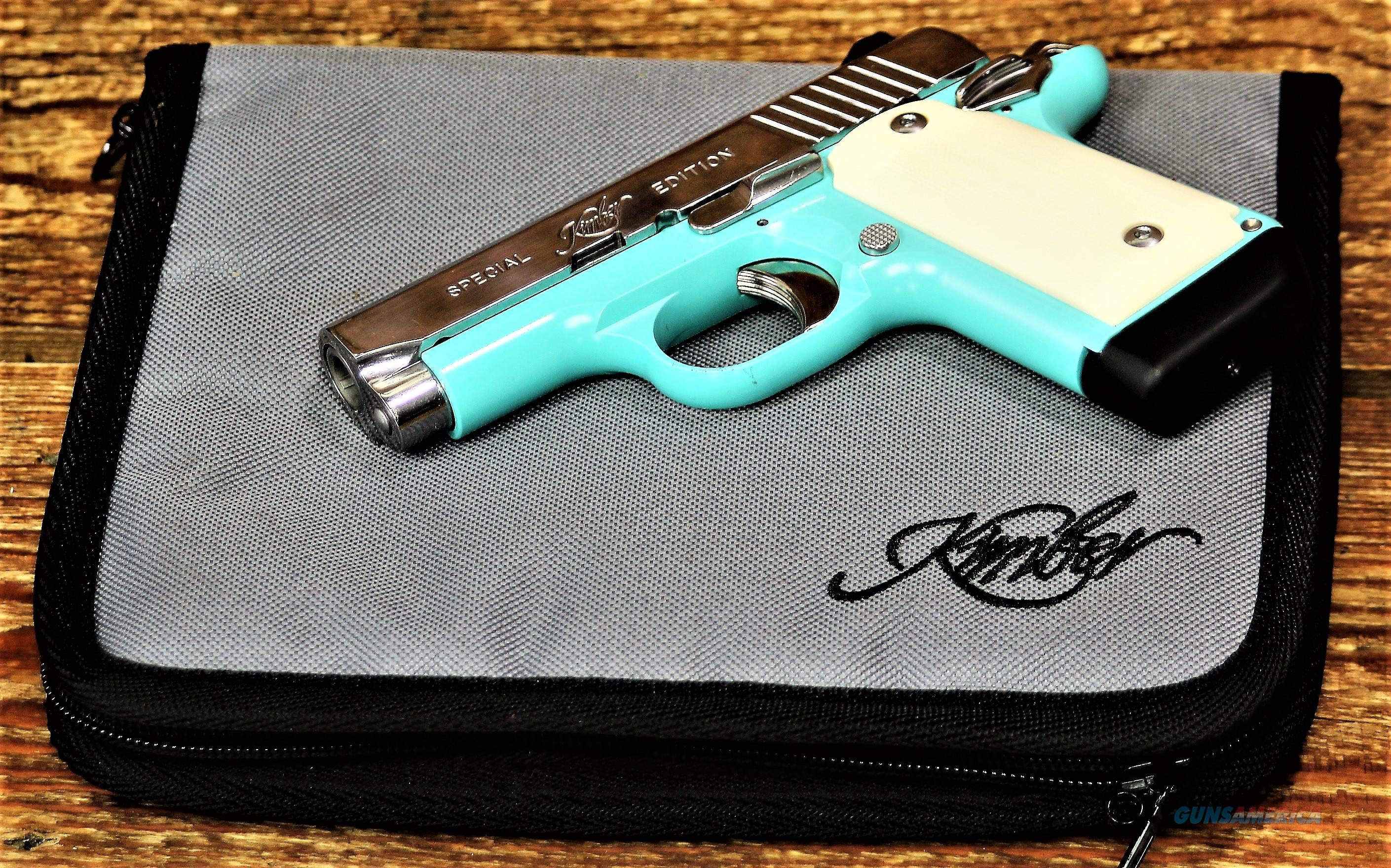EASY PAY $75 DOWN LAYAWAY 12 MONTHLY  PAYMENTS  KIMBER Concealed & Carry  Micro 9 CDP is a great compact 9mm  BelAir 9MM BLUE Bel Air Ivory Micarta grips  Stainless steel KIM3300110  Guns > Pistols > Kimber of America Pistols > Micro 9
