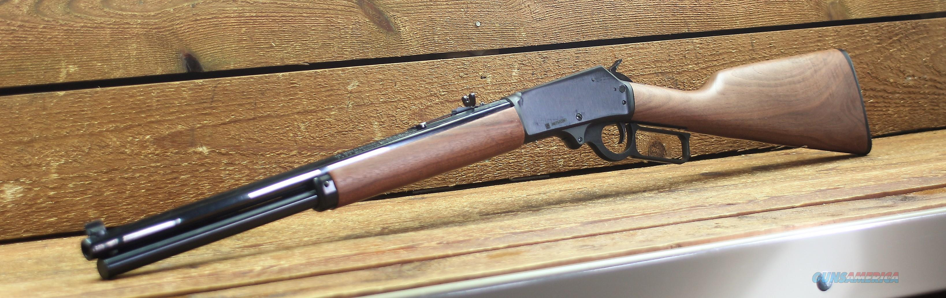 $44 EASY PAY  Proud of the American Design Marlin model 1895 Cowboy Lever Action Walnut Stock Wood  Big Game Hunting Metal Finish Rifle Caliber 45-70 Government Octagon Muzzle marble carbine front sight octagon 6-shot MAG barrel 70458  Guns > Rifles > Marlin Rifles > Modern > Lever Action