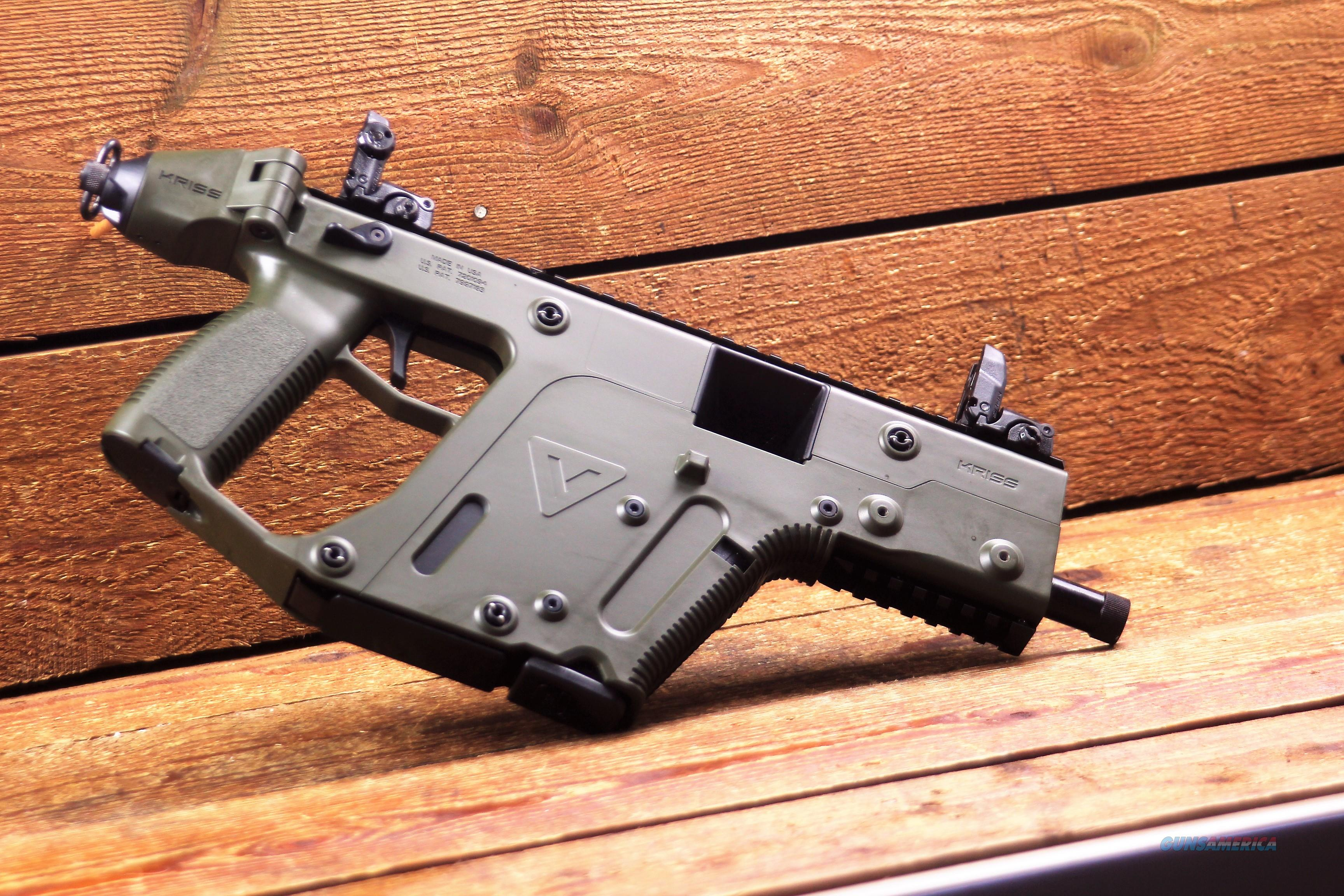 "EASY PAY $114 DOWN LAYAWAY 12 MONTHLY PAYMENTS KRISS Vector sub-machine gun SDP G2 45 ACP 5.5"" Threaded Barrel OD Green  KV45PGR20  Accepts GLOCK magazines  Guns > Pistols > Kriss Tactical Pistols"