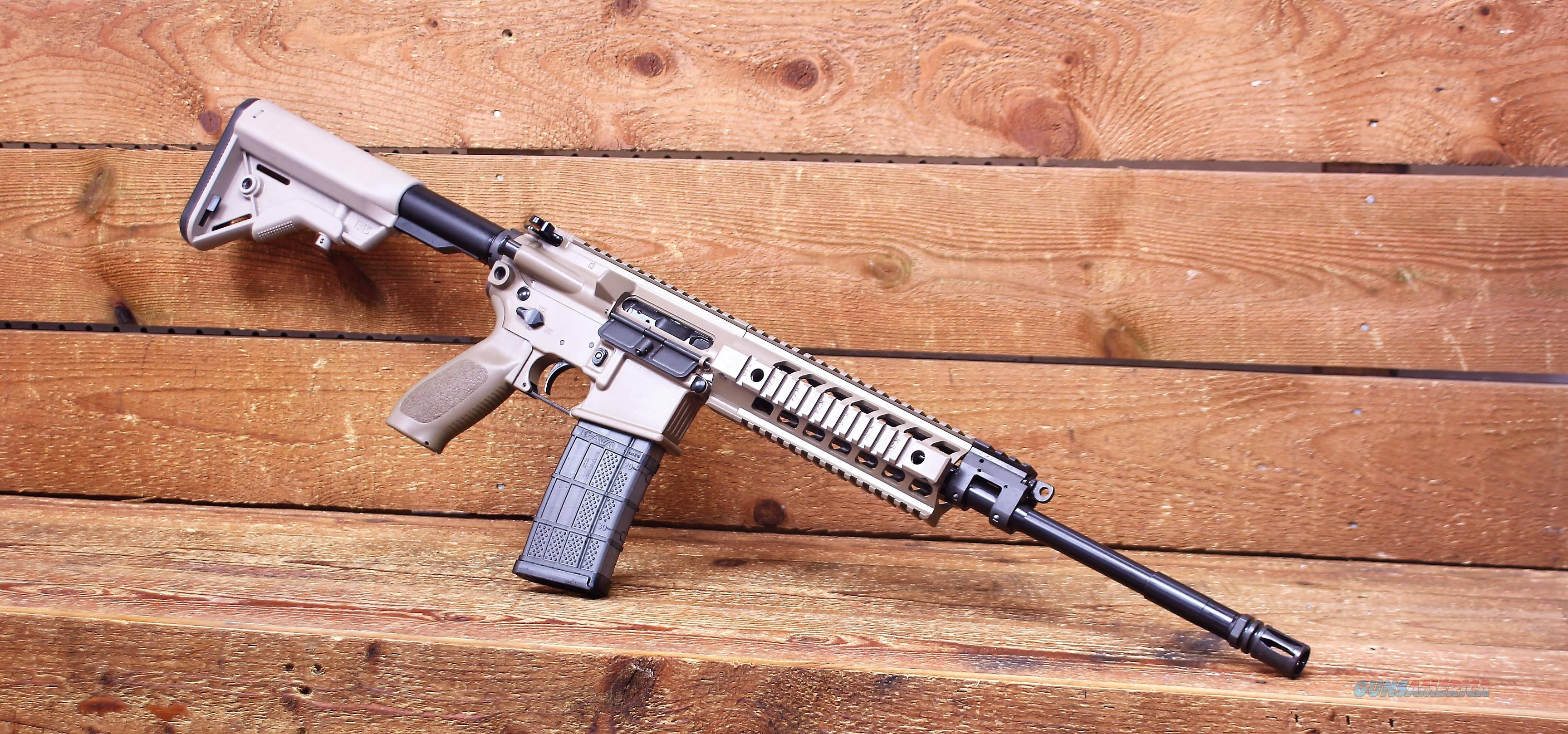 "EASY PAY $152 LAYAWAY AR-15   SIG Sauer SIG 516 Patrol Semi Automatic Rifle 5.56 NATO 16"" Barrel 30 Rounds Magpul Moe Stock and Grip Cerakote Finish Flat Dark Earth R516G2-16B-P-FDE 798681441440 R516G216BPFDE  Guns > Rifles > Sig - Sauer/Sigarms Rifles"