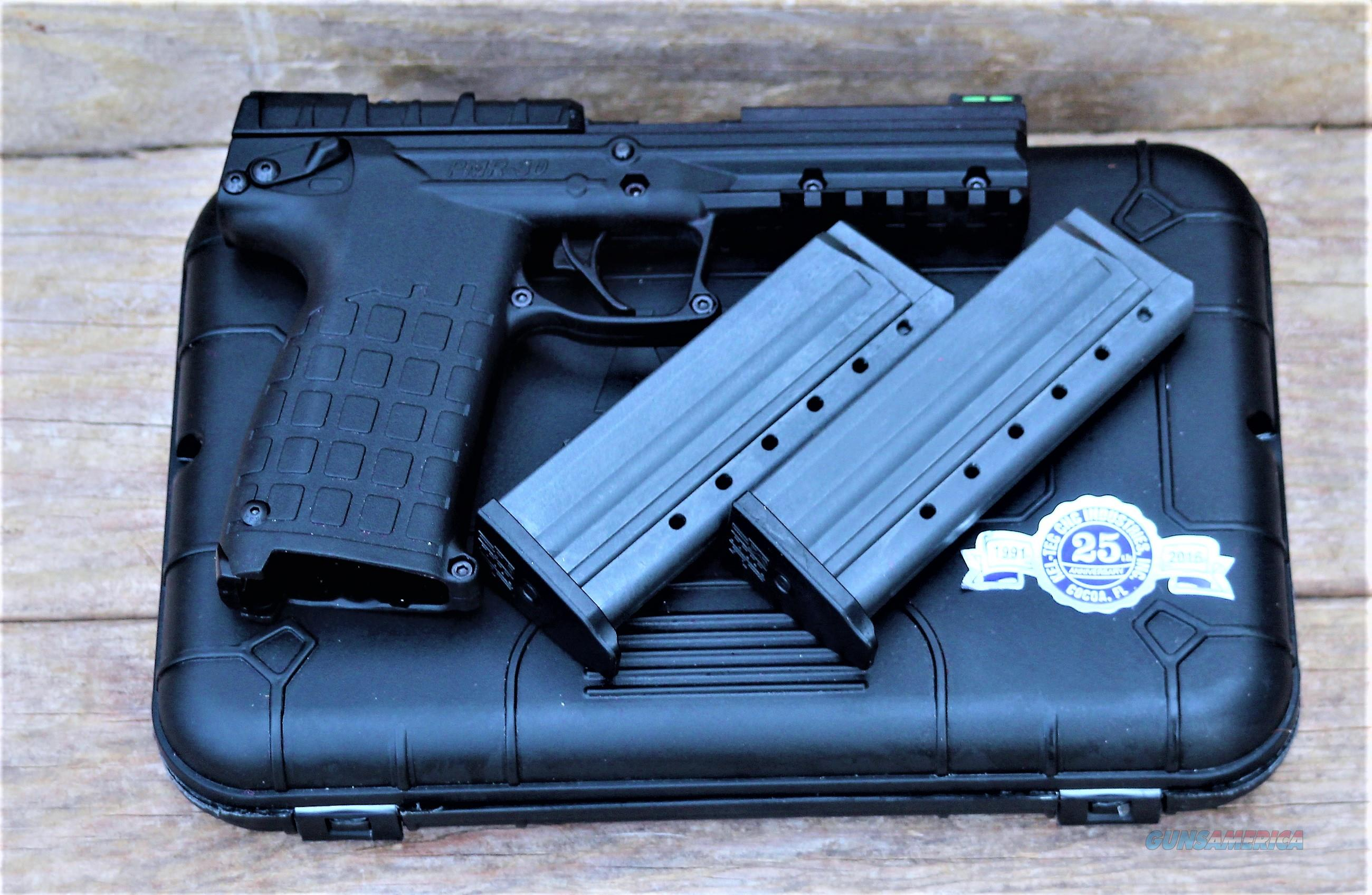 Sorry no sell in most Ban states ask your Local FFL about Your states Laws  KEL-TEC Black Polymer American Innovation! 30 SHOT Rimfire Higher velocity Around 2,000 feet per Second Can kill Larger  Game steel slide & barrel PMR-30 EZ PAY $33  Guns > Pistols > Kel-Tec Pistols > Pocket Pistol Type