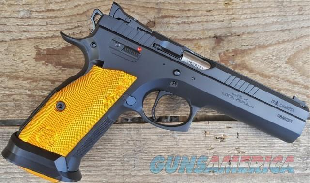 CZ 75 Tactical Sport Orange 9MM 3-20rd MAGS Made in Czech Republic for Competition / EZ PAY $151  Guns > Pistols > CZ Pistols
