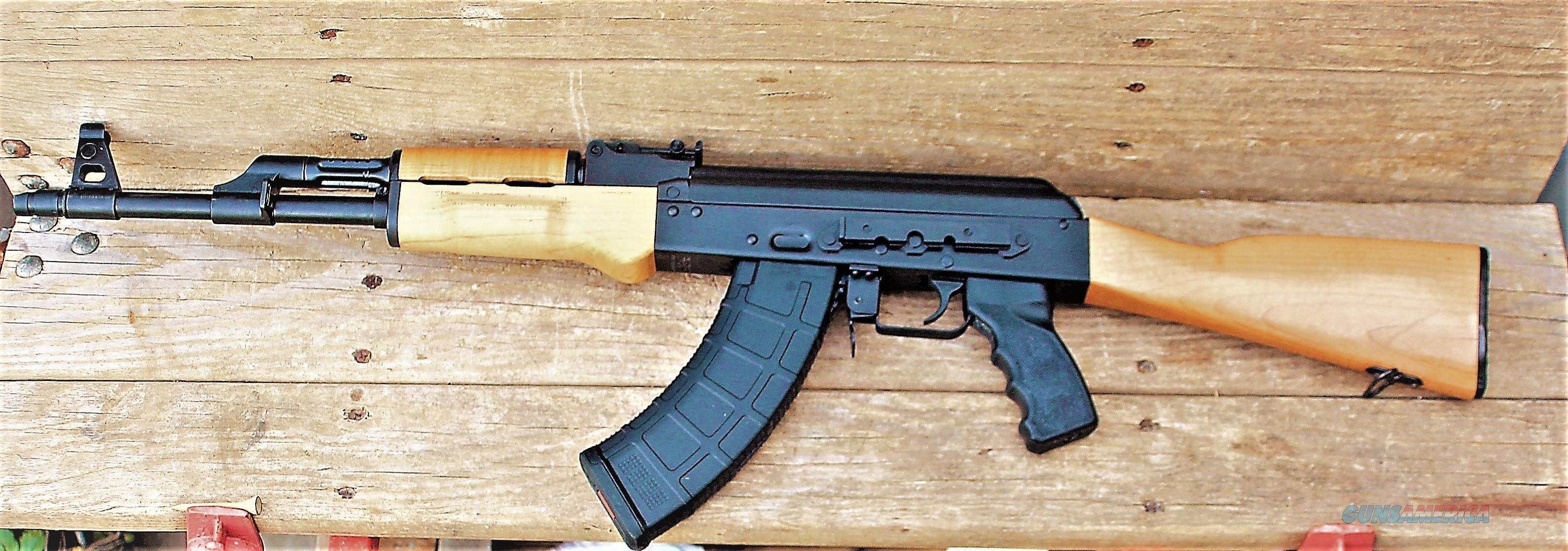$57  EASY PAY DOWN Century Red Army Standard CIA AK-47   Stamped Receiver RAS47 16.5 chrome lined Barrel 1:10 twist 7.5 lbs weight Slant Muzzle Brake Ak47 7.62x39mm Wood 30rds 30RD Magazine RI2403N   Guns > Rifles > Century International Arms - Rifles > Rifles