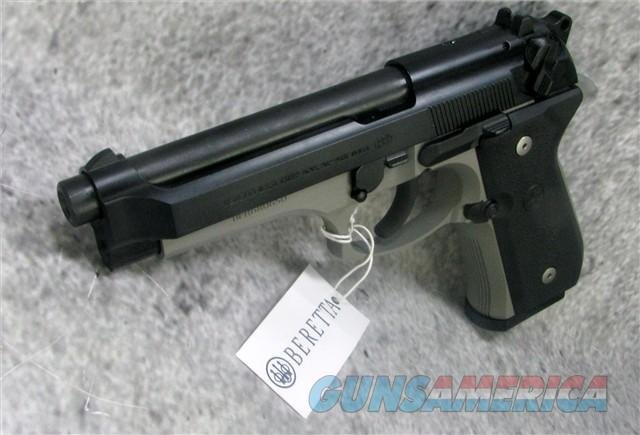 "BERETTA 92FS TWO-TONE 9MM SPEC0587A 4.9"" 15-SH BLACK SLIDE/INOX FRAME 9mm Luger EASY PAY"" $54  Guns > Pistols > Beretta Pistols > Model 92 Series"