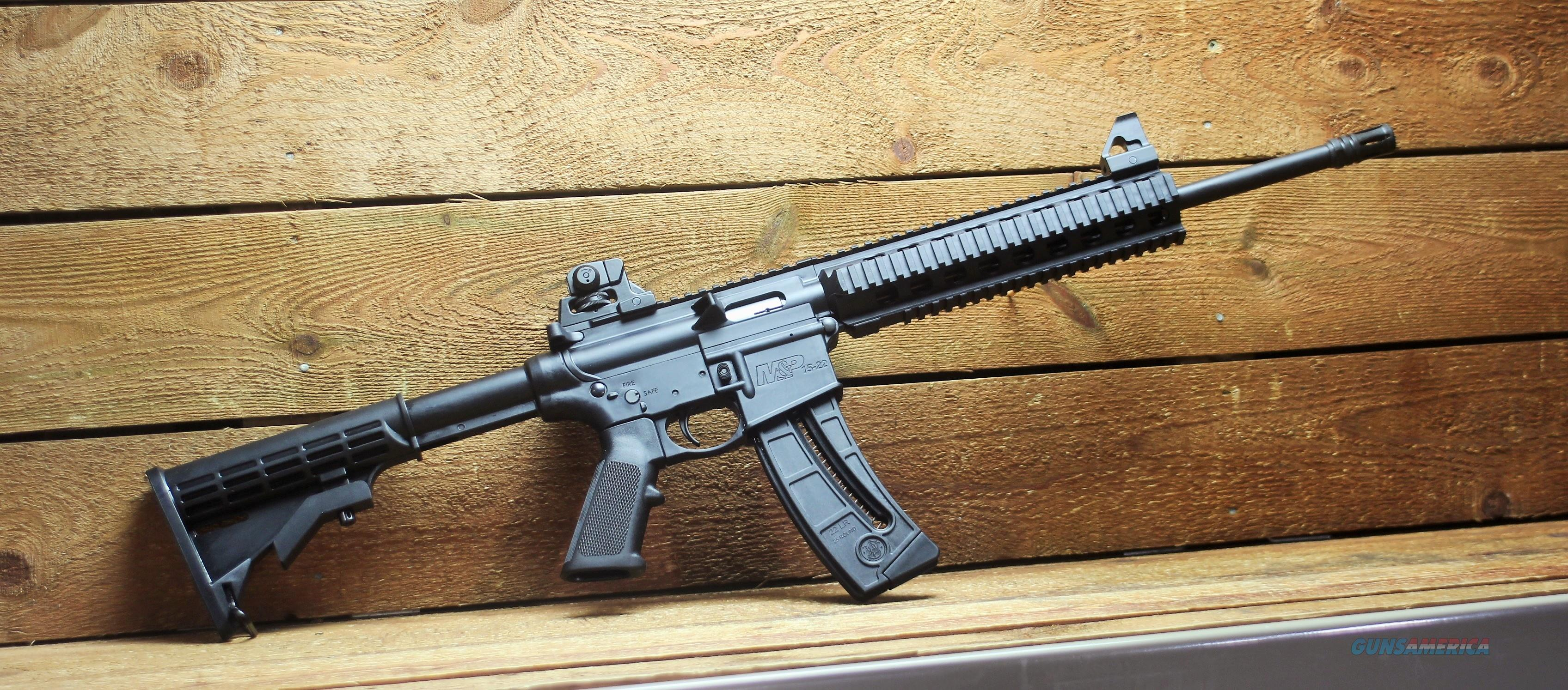 """EASY PAY $48.00 MONTHLY"" S&W M&P 15-22 - A1 .22 25rd mag 811033  6 Position CAR Stock   Guns > Rifles > Smith & Wesson Rifles > M&P"