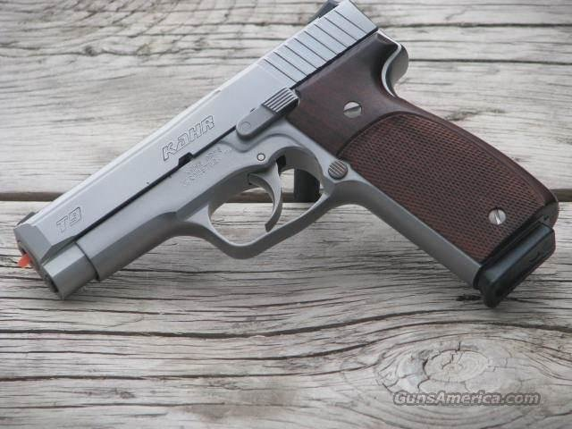 KAHR T9 Tactical 9MM with Novak low mount NIGHT SIGHTS and HOUGE WOOD GRIPS $100 LAYAWAY  Guns > Pistols > Kahr Pistols
