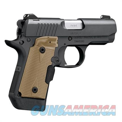 EASY PAY $67 LAYAWAY Kimber Micro 9 (LG) 9mm 3300176 Desert Tan Crimson Trace Laser grips  conceal carry concealed carry   Guns > Pistols > Kimber of America Pistols > Micro
