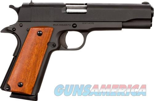"EASY PAY $42 LAYAWAY Armscor Rock Island Armory 1911 Standard GI Semi Automatic Pistol .45 ACP 5"" Barrel 8 Rounds Smooth Wood Grips Parkerized Finish 51421   Guns > Pistols > American Tactical Imports Pistols"
