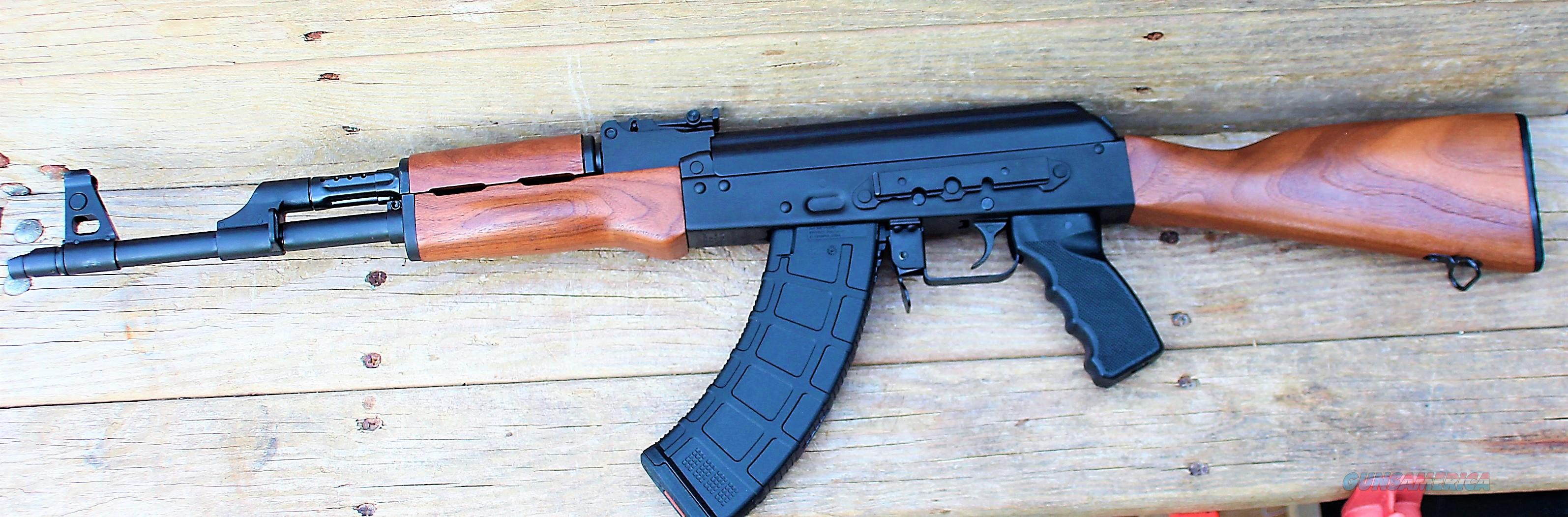 """EASY PAY $63 DOWN LAYAWAY 12 MONTHLY PAYMENTS Century Arms AK47 American Made Red Army Standard ak-47 Walnut stock and forearm RAS47 16.25"""" Chrome Barrel 1:10 Twist Stamped Receiver 30 Rounds Magpul AK-PMAG RAK-1 Enhanced 7.62x39 RI2759N   Guns > Rifles > Century International Arms - Rifles > Rifles"""