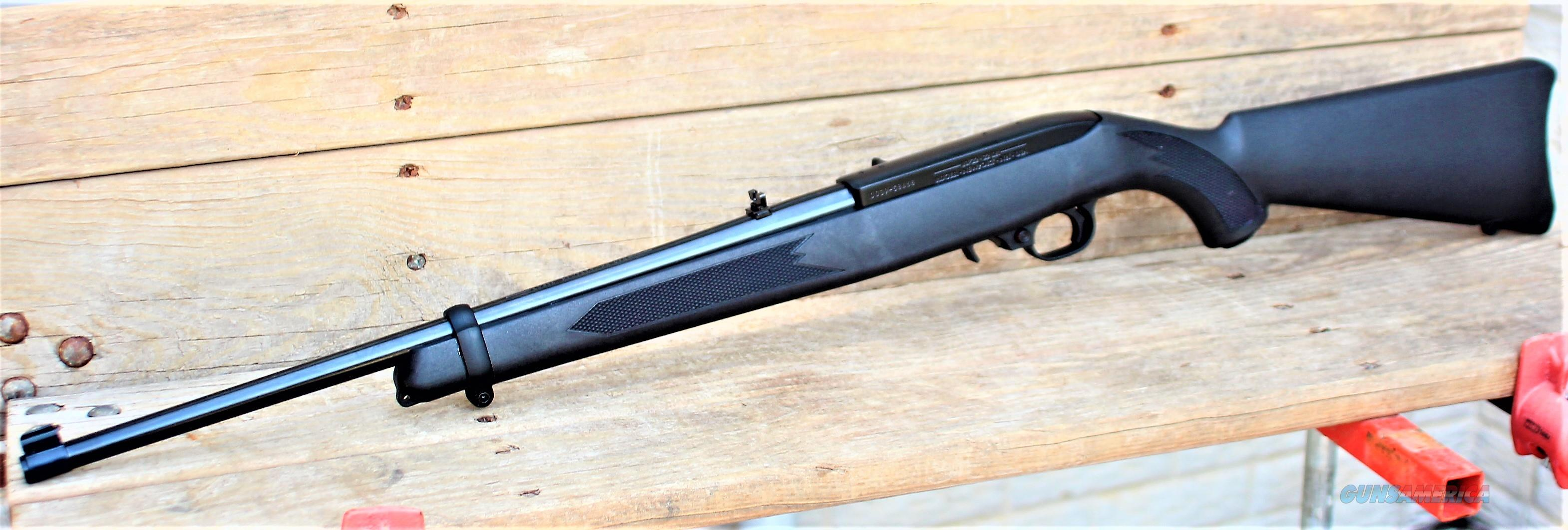 "EASY PAY $19 Black Ruger 10/22 Cheap Ammunition 1:16"" RH twist 18.5""  barrel  Youth or Adult training rifle Drilled and tapped for scope mount Small varmint hunting 22lr .22 Long Rifle 10 round  18.5"" contoured buttpad Barrel 1151-f  Guns > Rifles > Ruger Rifles > 10-22"