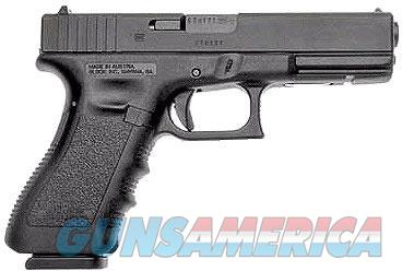 EASY PAY $49 LAYAWAY Glock 17 Standard Pistol PI1750203, 9mm, 4.49 in, Polymer Grip, Black Finish, Fixed Sights, 17 Rd g 17 g17 764503502170 GEN3 GEN 3  Guns > Pistols > Glock Pistols > 17