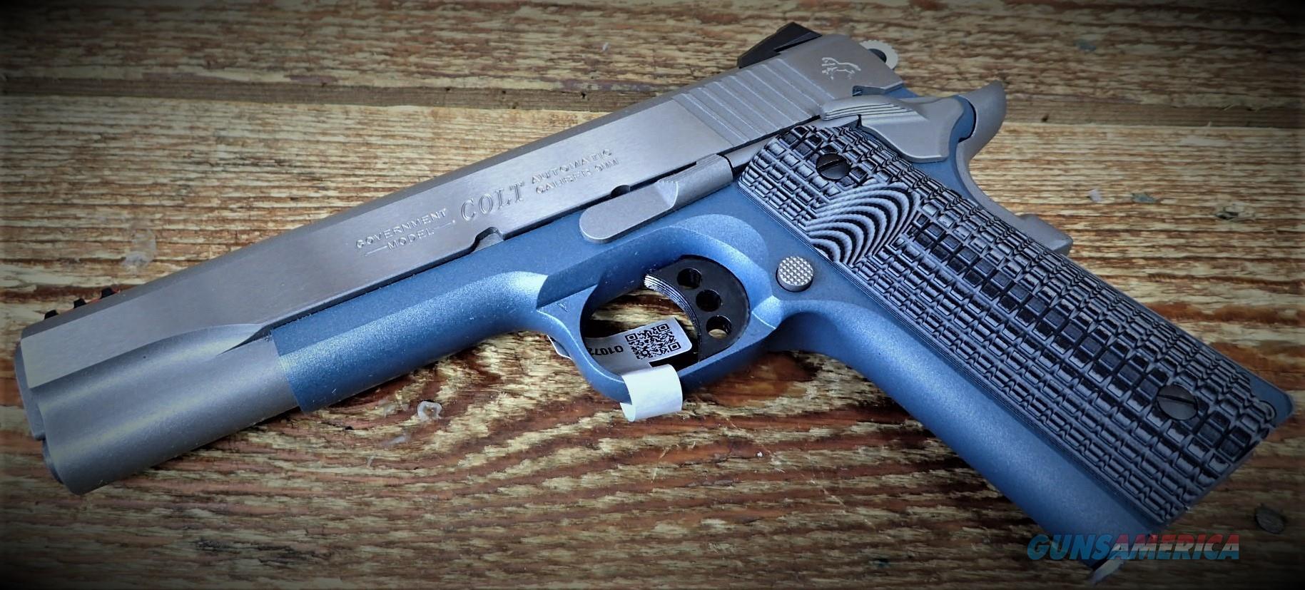 COLT GOVENMENT COMPETITION TITANIUM O1072CCSBT /EZ Pay $64  Guns > Pistols > Colt Automatic Pistols (1911 & Var)